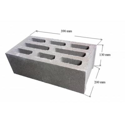 Gạch bê tông rỗng 390*200*130