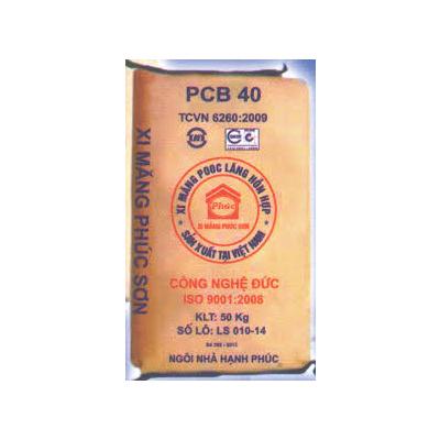 Xi măng bao PCB30, PCB40 Phúc Sơn