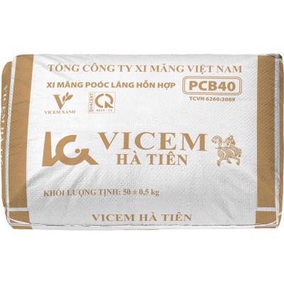 Xi măng bao PCB40 Hà Tiên